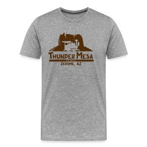 Thunder Mesa Studio - Jerome, AZ - Men's Premium T-Shirt