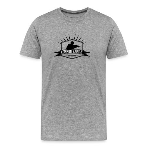 Common Family Survival YouTube Channel Logo - Men's Premium T-Shirt