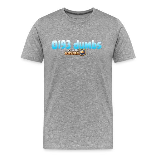 0193 dumbs Offical Shirt - Men's Premium T-Shirt