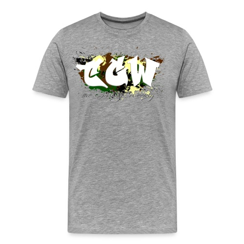 TGW Camo edition - Men's Premium T-Shirt