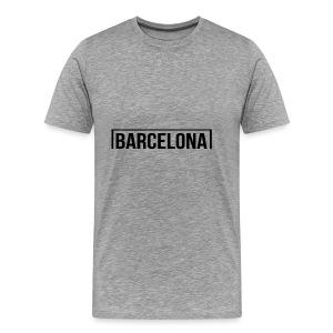 Goal Barcelona Black - Men's Premium T-Shirt