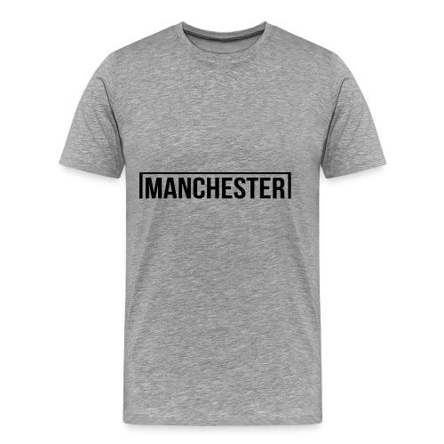 Goal Manchester Black - Men's Premium T-Shirt