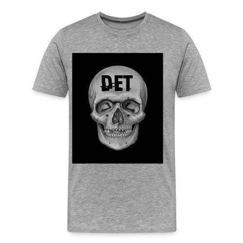 DET Skeleton - Men's Premium T-Shirt