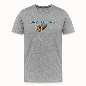 Burrito Gang Bottom Logo Shirt - Men's Premium T-Shirt