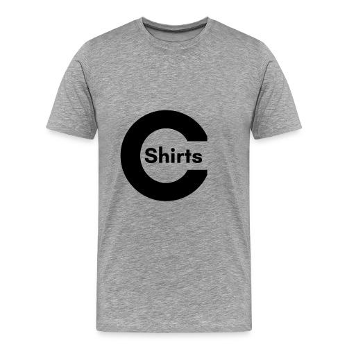 CShirts Original Logo - Men's Premium T-Shirt