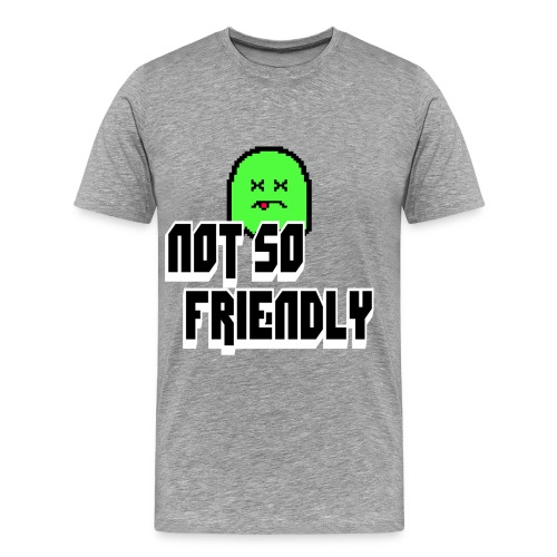 not_so_friendly_logo - Men's Premium T-Shirt