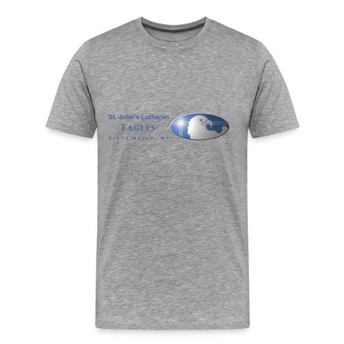 Side Logo - Men's Premium T-Shirt