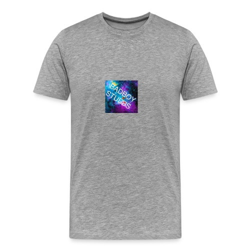 Buttons and Badges - Men's Premium T-Shirt