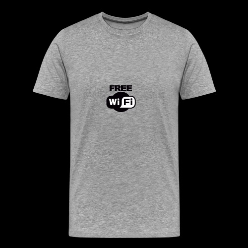 FREE WIFI - Men's Premium T-Shirt