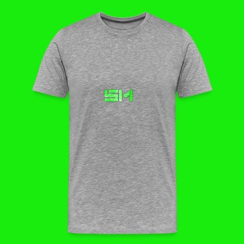 SloMotion logo - Men's Premium T-Shirt