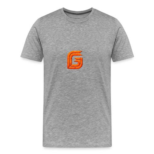 Classic Small GG Lad Logo - Men's Premium T-Shirt