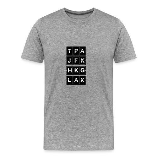 Catching Flights Tee - Men's Premium T-Shirt