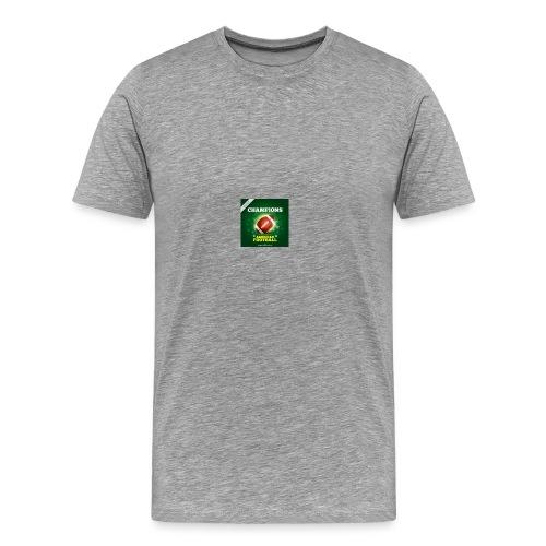 American Football ball - Men's Premium T-Shirt