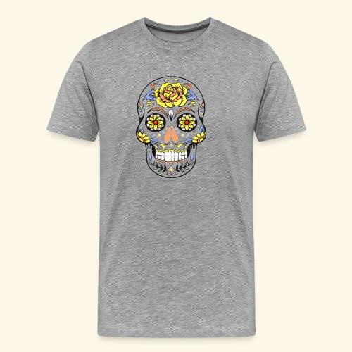 Day of dead sugar skull - Men's Premium T-Shirt