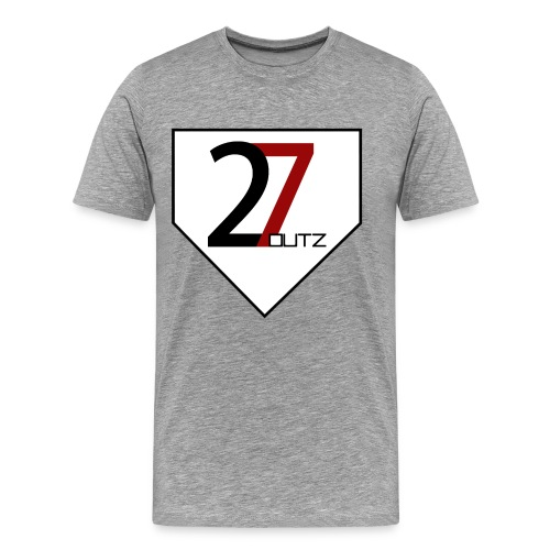 27 Outz - Home Plate - Men's Premium T-Shirt