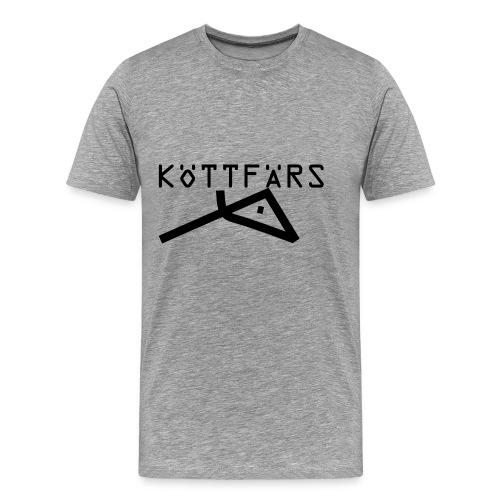 Köttfärs Black - Men's Premium T-Shirt