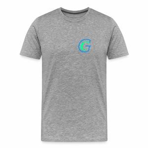 GeloC logo without background - Men's Premium T-Shirt
