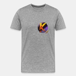 Piros P Logó - Men's Premium T-Shirt