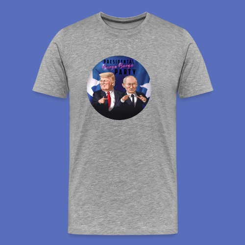 Trump Putin Bunga - Men's Premium T-Shirt
