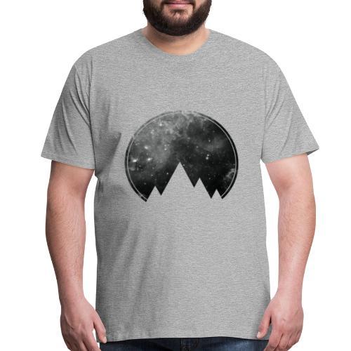 Space Mountains - Men's Premium T-Shirt