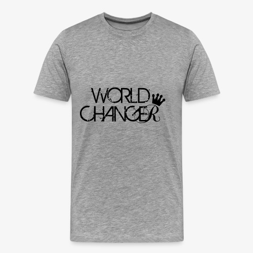 World Changer - Men's Premium T-Shirt