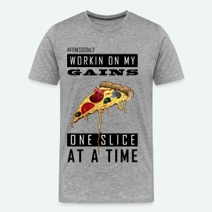Workin On My Gains - Men's Premium T-Shirt