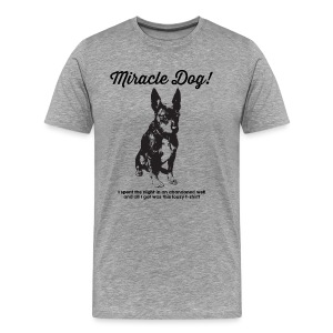 Miracle Dog! - Men's Premium T-Shirt