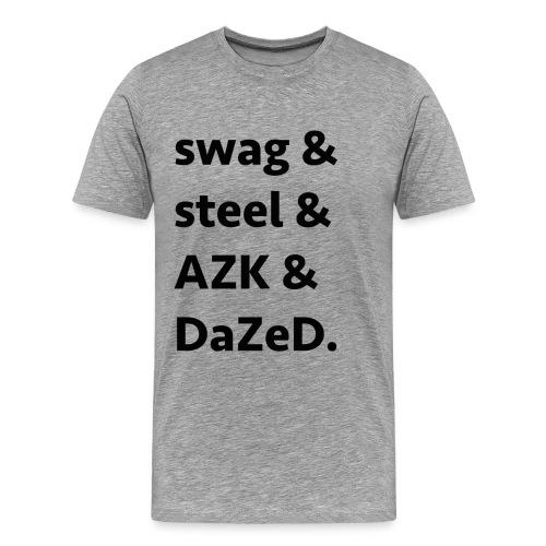 ssad black - Men's Premium T-Shirt