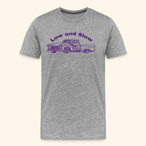 Low and Slow - Men's Premium T-Shirt