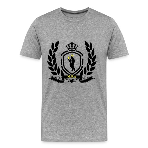 Conscious King (Crest) - Men's Premium T-Shirt