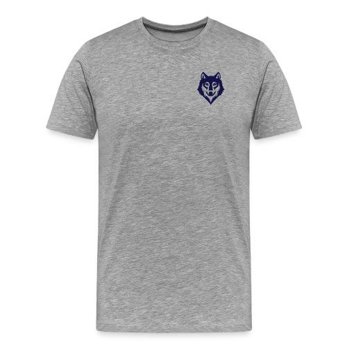 9a45729d3404bccd07a3281e8b3a12ec wolf stencil wol - Men's Premium T-Shirt