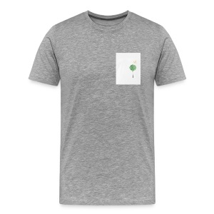Tree with Crown - Men's Premium T-Shirt