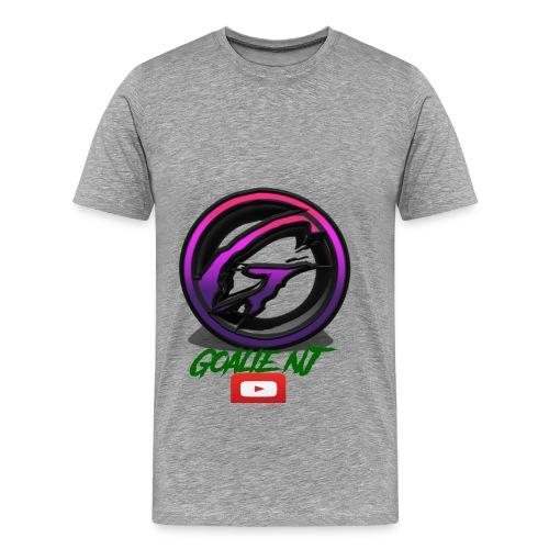 goalie nj logo - Men's Premium T-Shirt