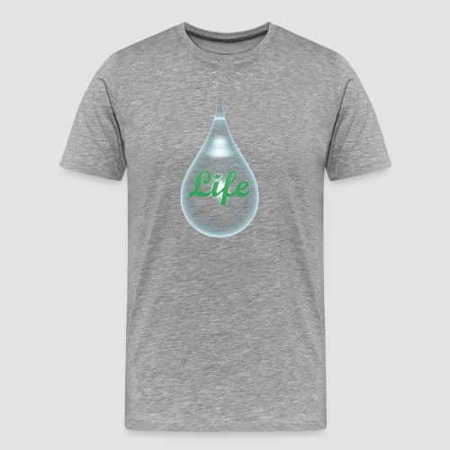 The drops of life - Men's Premium T-Shirt
