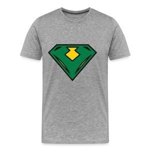 Vegan superhero - Green - Men's Premium T-Shirt