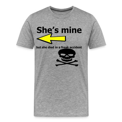 She's mine - Men's Premium T-Shirt
