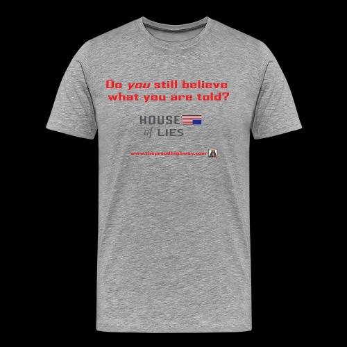 House of Lies - Men's Premium T-Shirt
