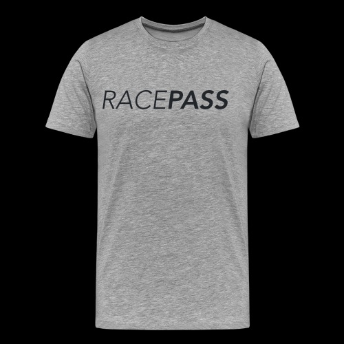 Racepass logo black - Men's Premium T-Shirt