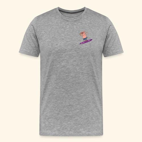 SurfnHog Logo Image - Men's Premium T-Shirt