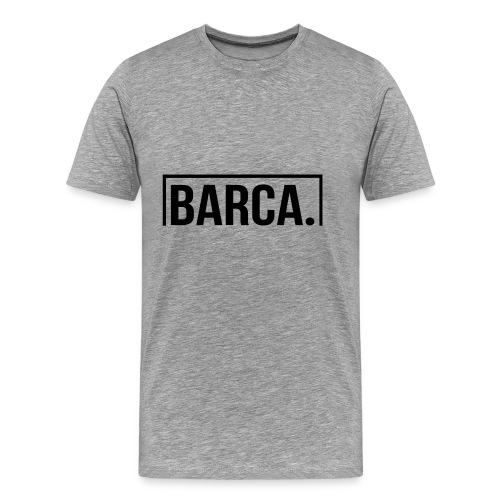 Goal Barca Black - Men's Premium T-Shirt