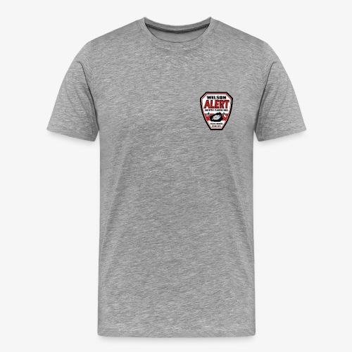 New Wilson ALERT Logo - Men's Premium T-Shirt