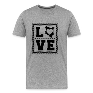 love kenya Black - Men's Premium T-Shirt