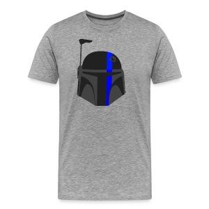 Thin Blue Line - Boba Fett - Men's Premium T-Shirt