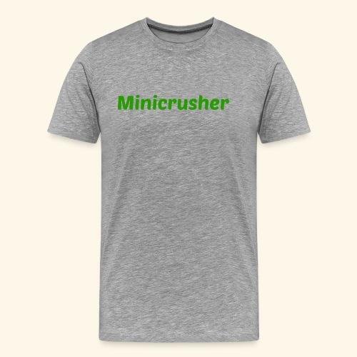 Minicrusher design - Men's Premium T-Shirt