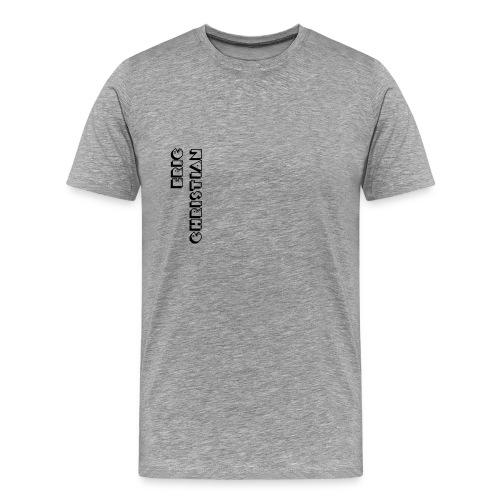 Eric Christian Side Logo Black - Men's Premium T-Shirt