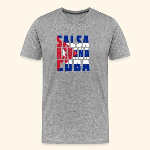 Salsa. Havana. Cuba. Salsa Dance Design - Men's Premium T-Shirt