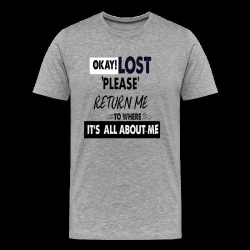 OKAY LOST - Men's Premium T-Shirt