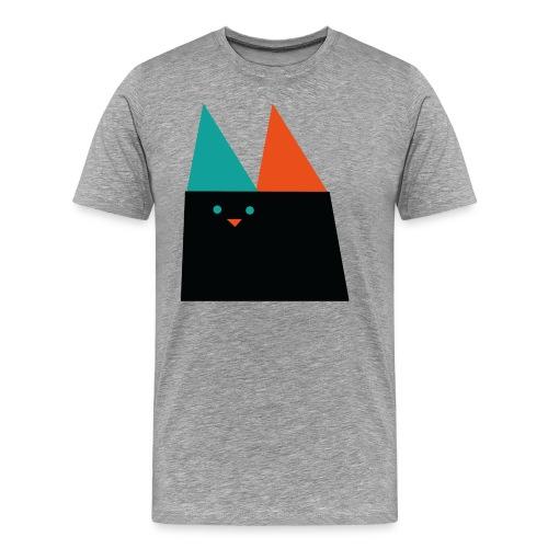 GEOMETRIC CAT - Men's Premium T-Shirt