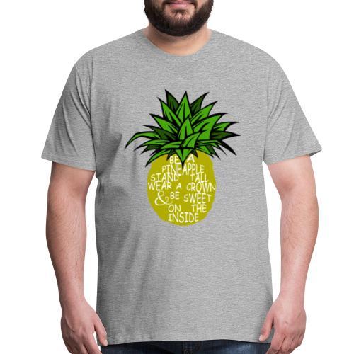 PineappleVer2 - Men's Premium T-Shirt