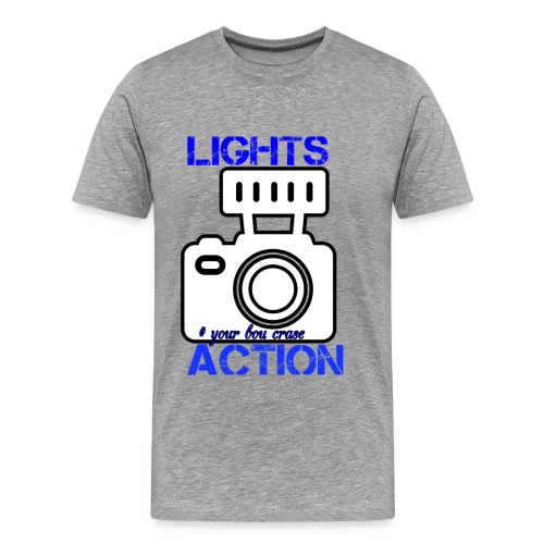 THE LIGHT IS ONE YOU - Men's Premium T-Shirt